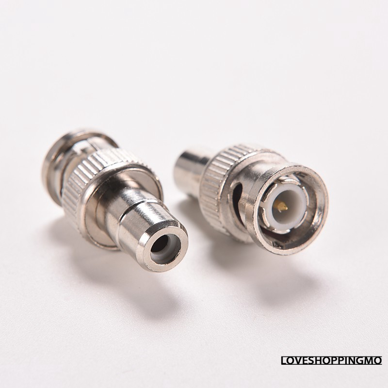 New F-type Female to RCA Male RF Plug Adapter Connector Coaxial Jack