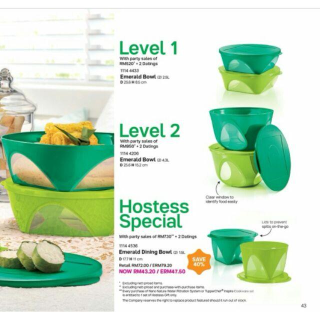 Tupperware Emerald Bowl