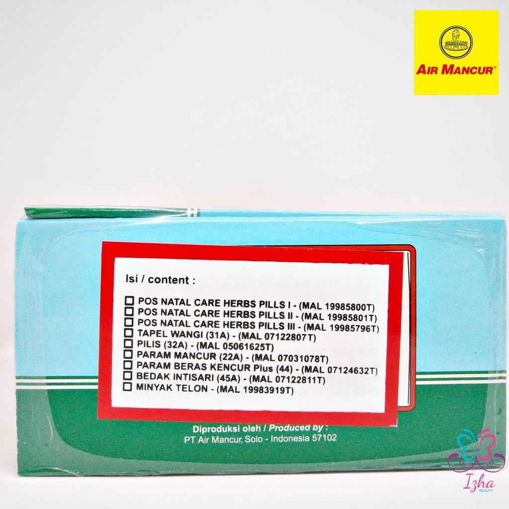 [AIR MANCUR] Set Bersalin Lengkap Air Mancur (Pil - Kotak)