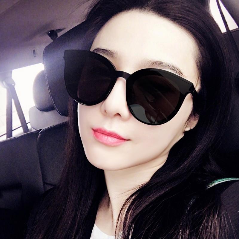 a04a7da4ac8 Sunglasses female 2018 new UV Korean tide network red polarized sunglasses  round face retro Harajuku style glasses