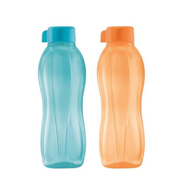 Tupperware Eco Bottle 500ml (2pcs) No Leak Lifetime Warranty Free Exchange
