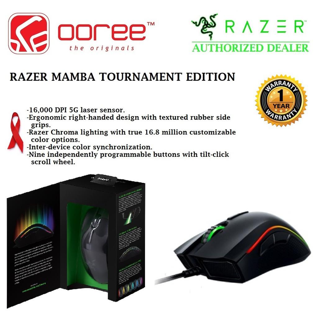 Razer Mamba 16000 Wired Wireless Gaming Mouse Shopee Malaysia 5g Chroma