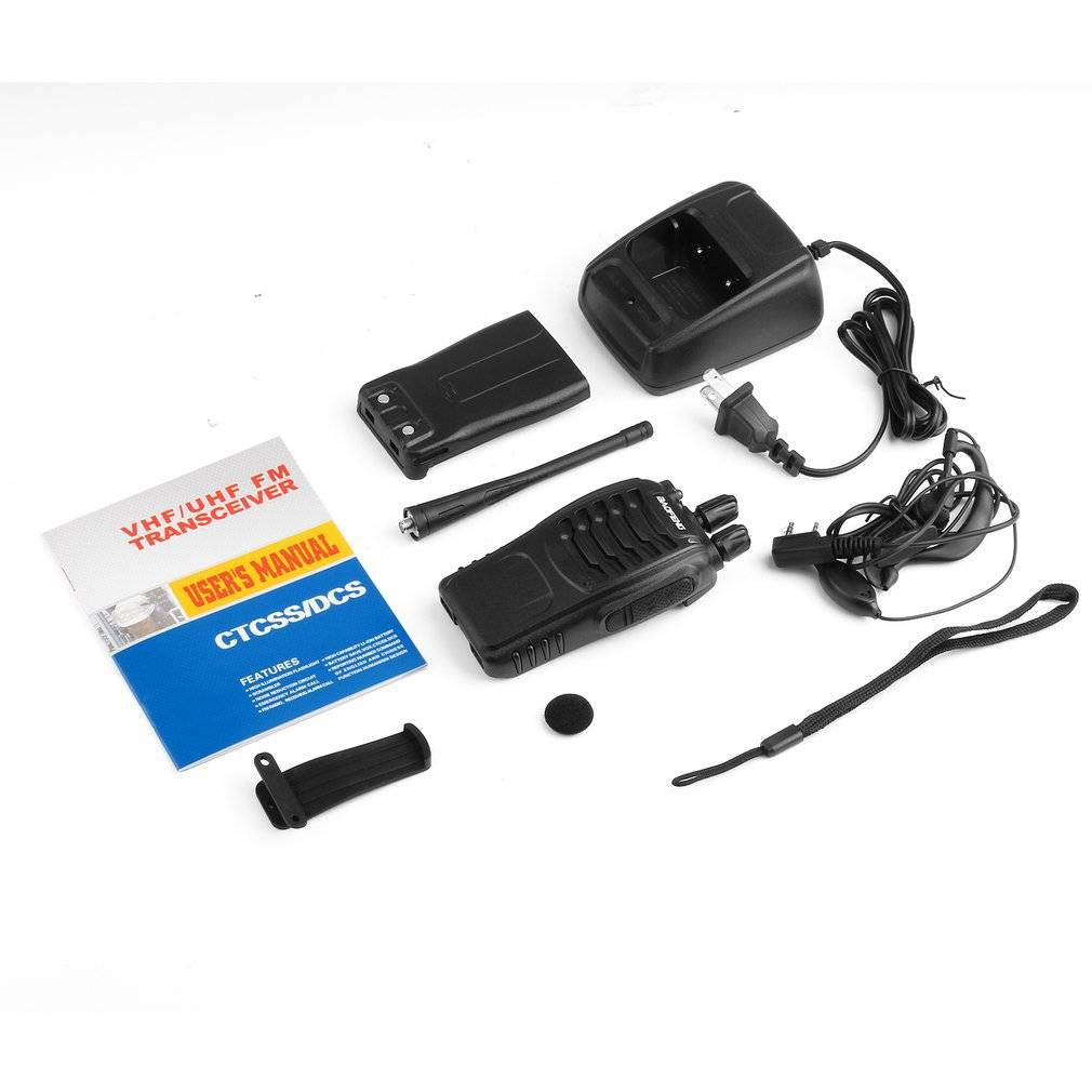 Yucheng 400-470 MHz Handheld Walkie Talkie 2-way Amature Ham Radio US Plug