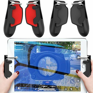 2X PUBG Mobile Phone Gamepad Trigger Fire Button Controller for iPad  Android IOS