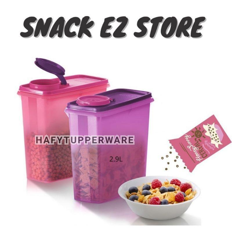 💥READY STOCK💥Tupperware Snack EZ Storer (1) 2.9L