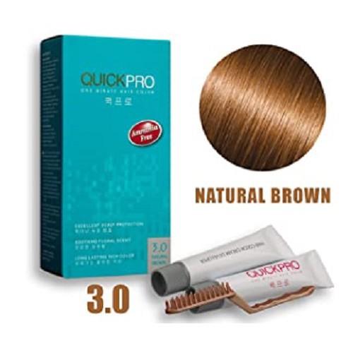 QuickPro One minute Hair Colour Creme & Developer Kit
