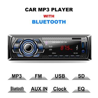 GB Car Stereo Bluetooth Audio Music MP3 Player FM AM Radio Aux Input  Receiver
