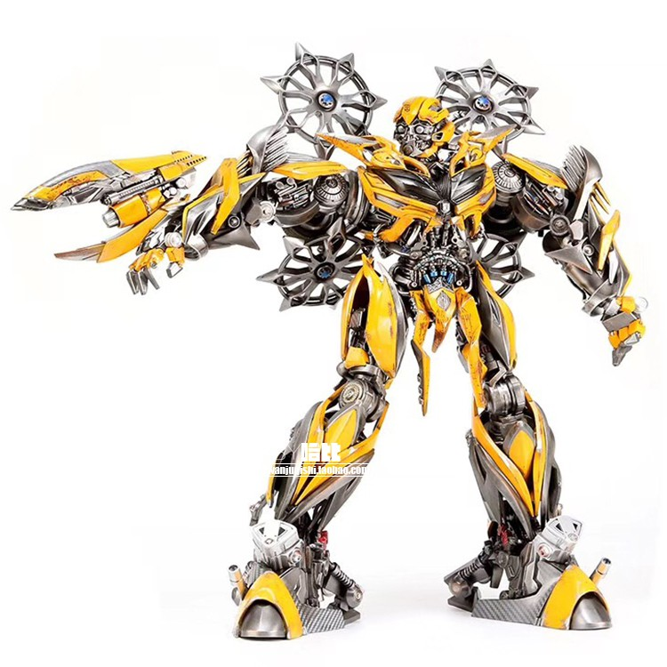 Comicave Genuine 1 18 Transformers 4 Bumblebee Movable Alloy Statue Model Bookin