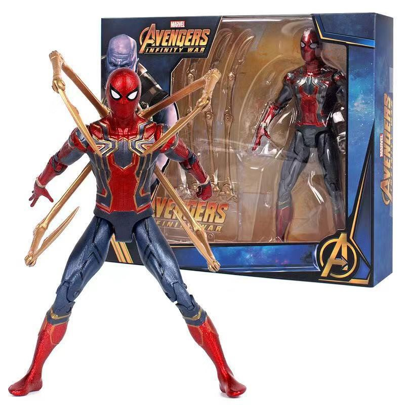 """New Avengers 3 Infinity War Iron Spiderman 6/"""" Spider-Man Action Figure Toys Gift"""