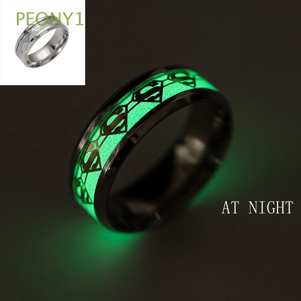 a9ad3c2fd fashion Lovers Stainless steel luminous ring Creative letter Love Glowing  ring for women party Fluorescence Jewelry ac | Shopee Malaysia