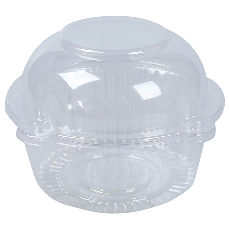 Cake Container Dome In Carri, Single Glass Cupcake Stand With Dome