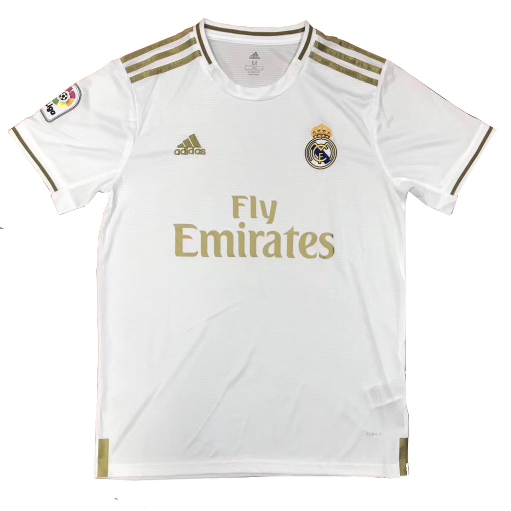 1:1 Copy ori 2019/2020 Real Madrid Home football soccer kit jersey top qu