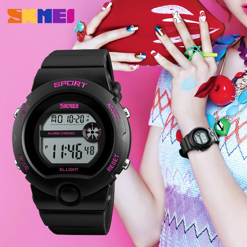 623530989ad SKMEI 1206 Men Women LED Digital Waterproof Sport Thin Fashion Simple Dial  Watch