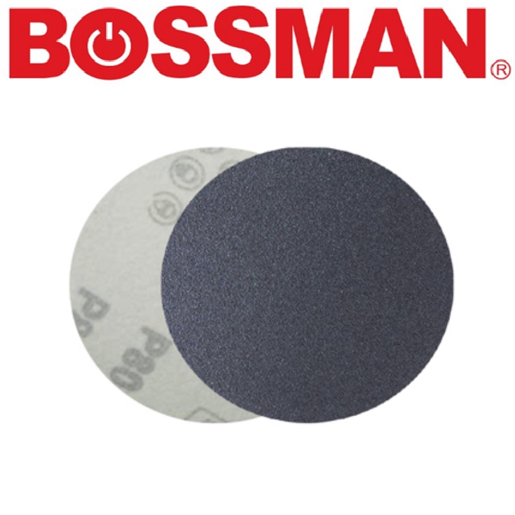 BOSSMAN INDUSTRIAL TOOLS VELCRO DISC (SILICONE CARDIBE) ACCESSORIES EASY USE SAFETY GOOD QUALITY