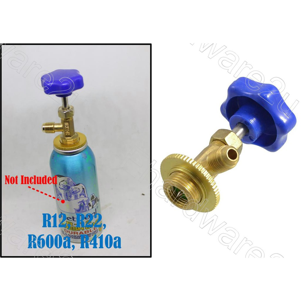 1//4 SAE Dispensing Valve Refrigerant Bottle Can Tap For R22 R134a R410A Gas