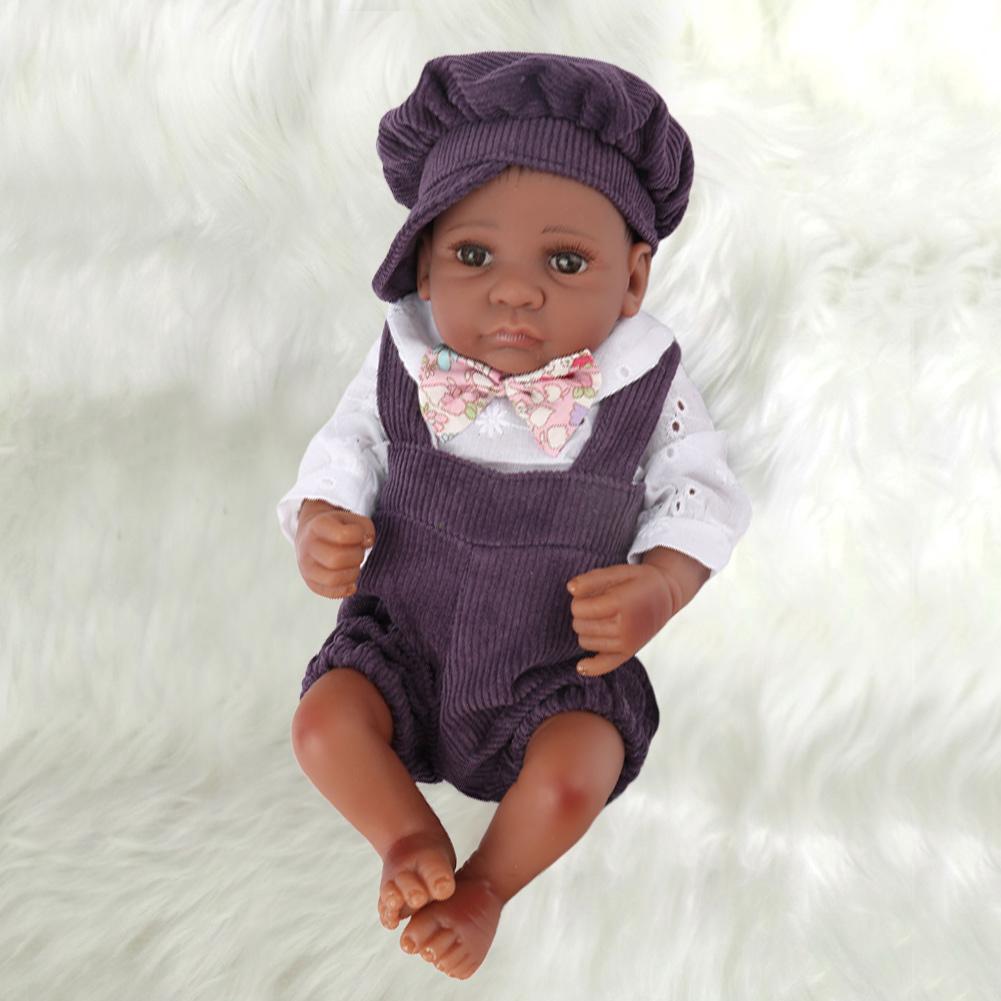 30cm Reborn Dolls Baby Lifelike Realistic Accompany Baby Dolls Gift Toys For Kids