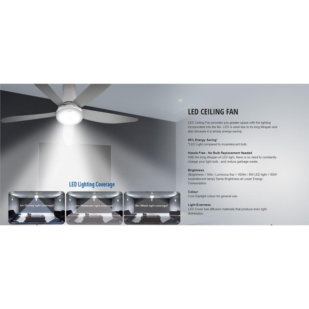 Ceiling Fan With Led F M12gx Fm12gx