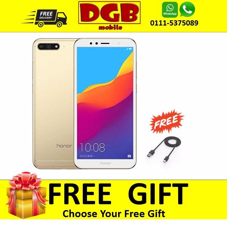 [Free Gift] Honor 7A (2GB+16GB)Honor Malaysia Warranty