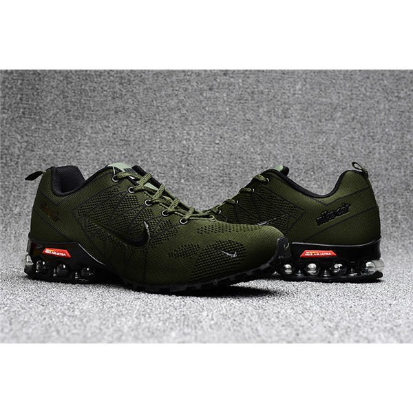 sports shoes 067df c5ce0 Nike Air Max 2018 Ultra Zoom Army Green Black Men's Running Shoes Sneakers