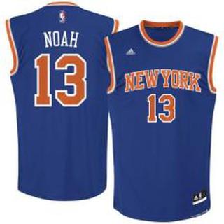 super popular 13066 00af5 Nike Blue NBA For Man New York Knicks Joakim Noah Basketball ...