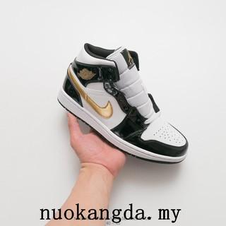 Original Nike Air Jordan 1 Mid men shoes basketball shoes