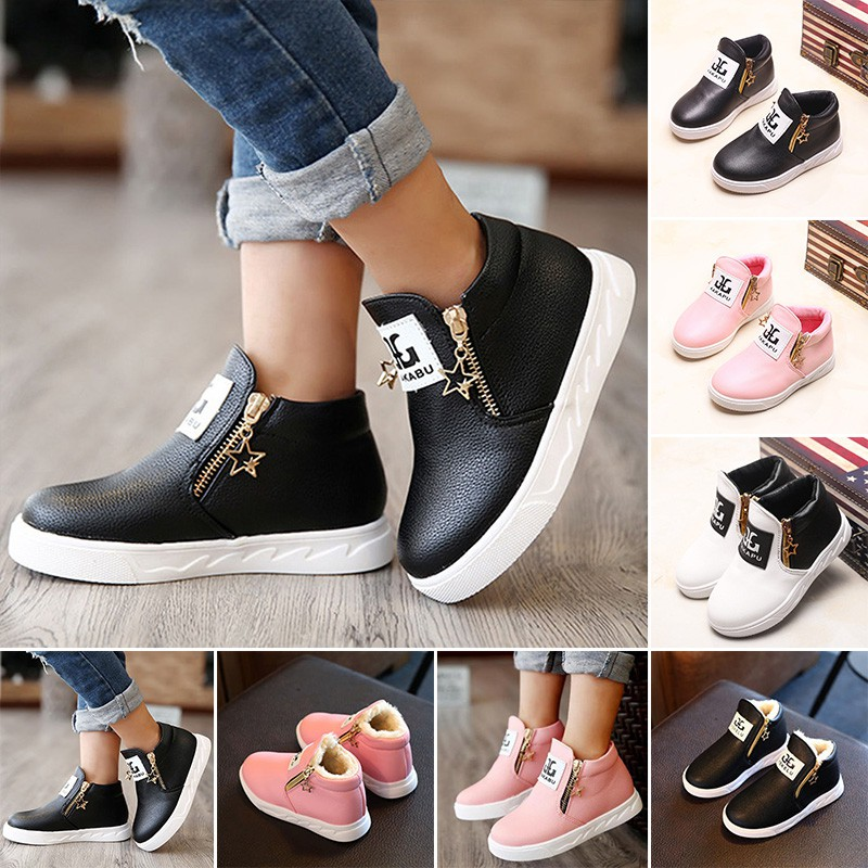 4da0c179163 Womens Creepers Chunky Cleated Platform Front Zip Warm Lined Ankle Boots  Shoes