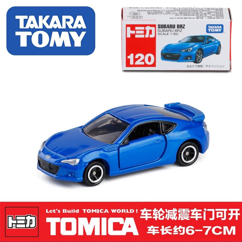 new TAKARA TOMY Tomica 120 SUBARU BRZ blue FREE SHIPPING WORLDWIDE