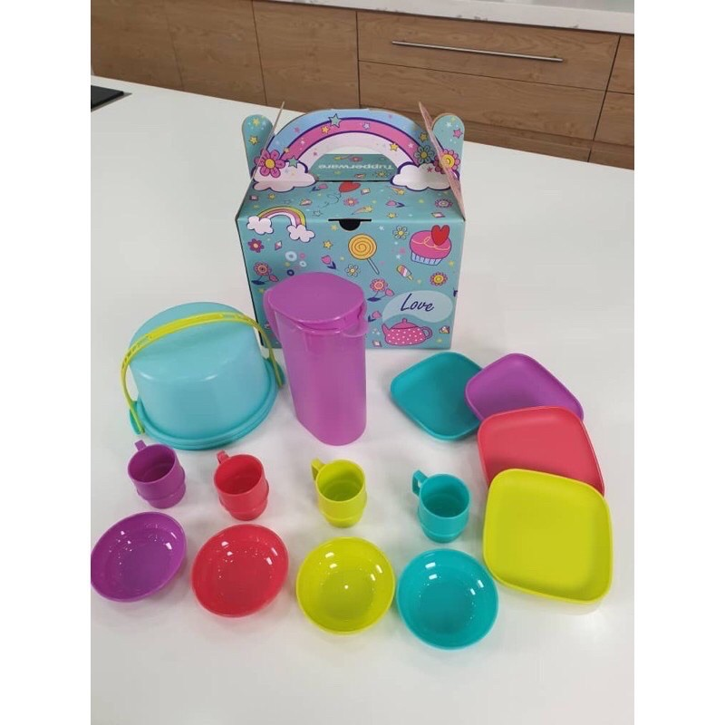 Tupperware Mini Masak Set With Gift Box