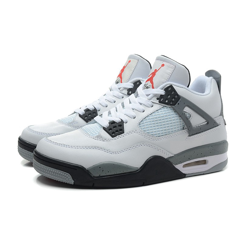 check out b7992 d58ce Nike Jordan Retro Men Basketball Shoes Cement oreo Singles 3