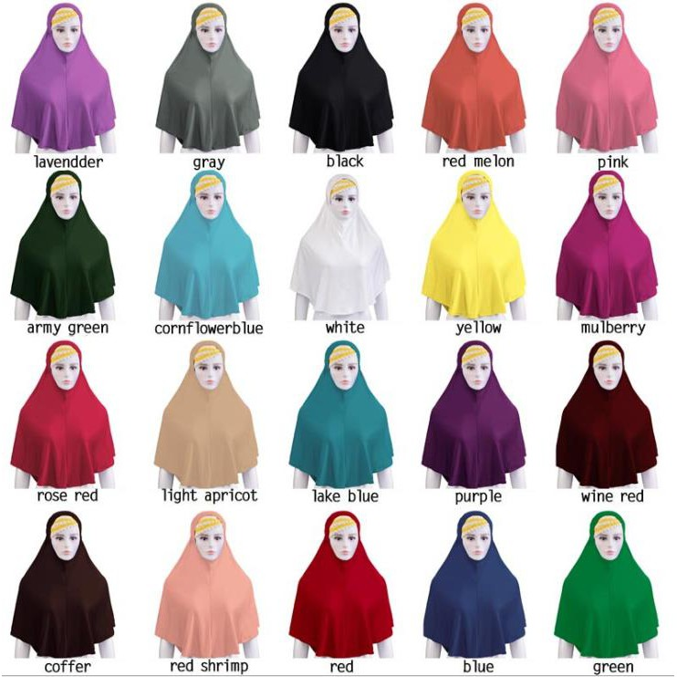 1x Fashion Women Solid Color Modal Scarf Muslim Islamic Hijab Wrap Shawl Scarves