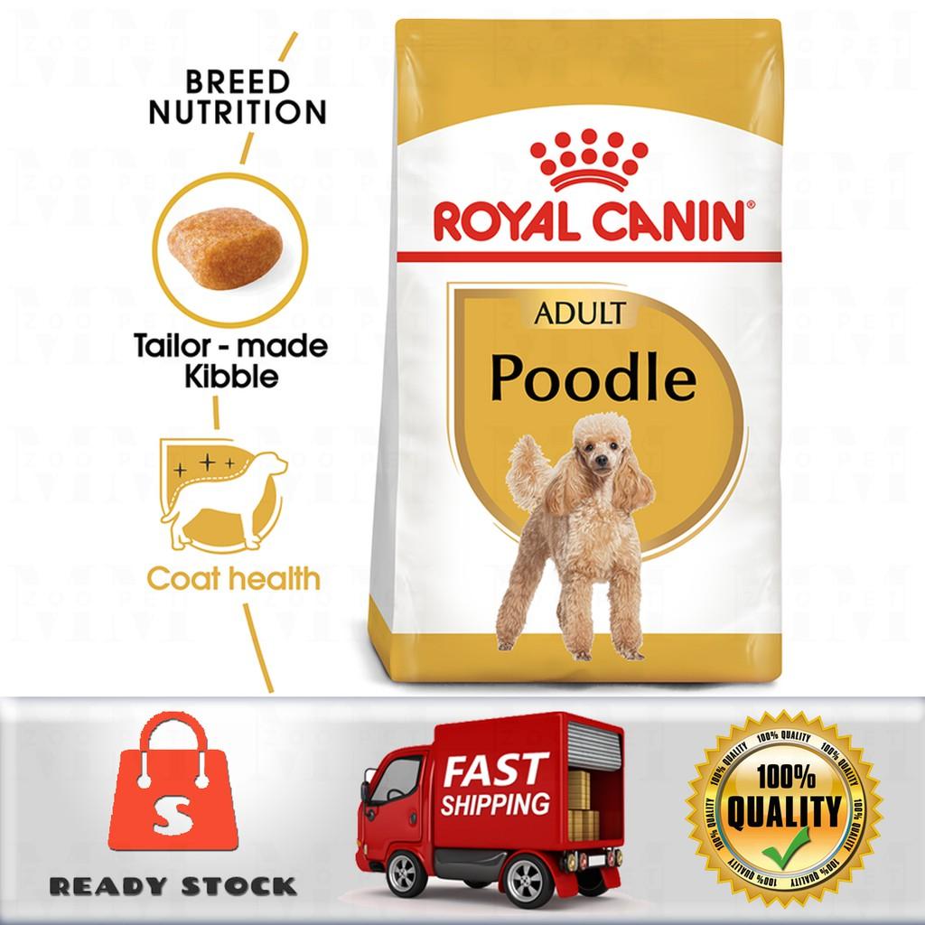 Royal Canin Poodle Adult Dog Food Makanan Anjing 1 5kg