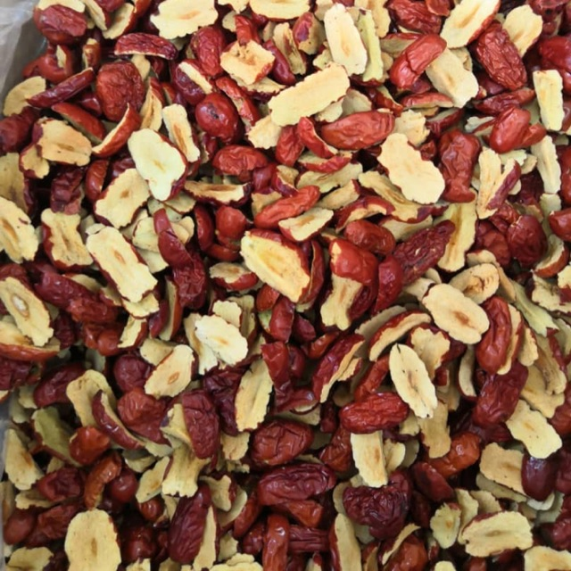【Dates】1KG Dried Red Dates Chips Slices 新疆红枣脆片袋装