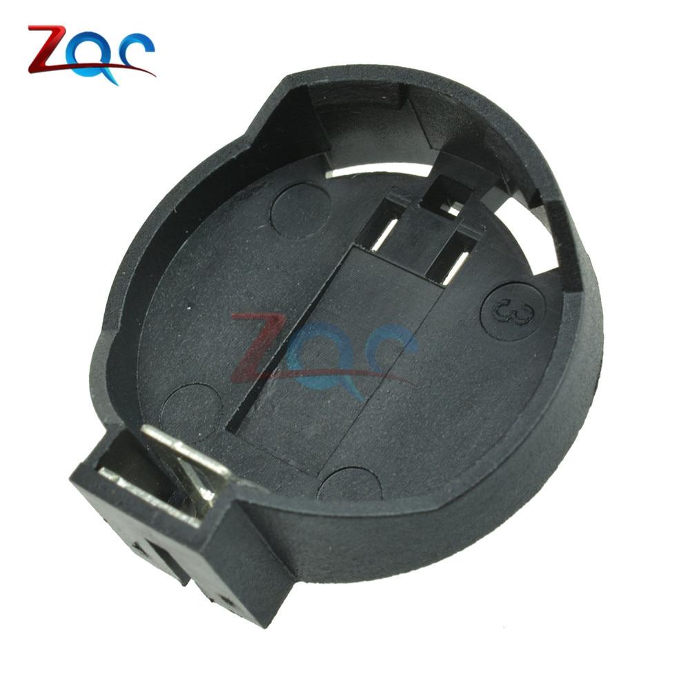 10PCS CR2025 CR2032 Button 3V Coin Cell lithium Battery Socket Holder Box Case