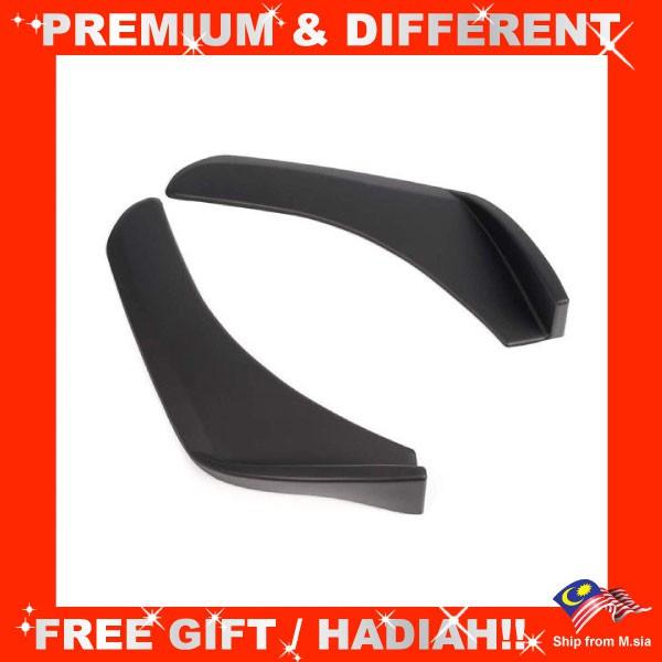 Front Deflector Spoiler Side Splitter 502 Rear Bumper Diffuser Canard Lip Body Shovels (Pair)