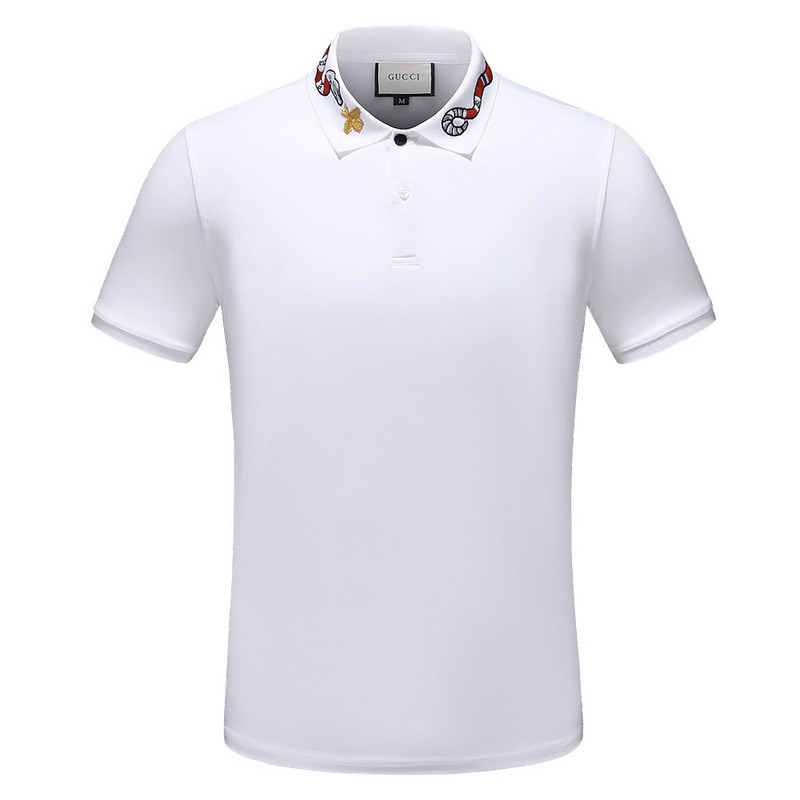 b83d904a0 ProductImage. ProductImage. 2019 GUCCI SHORT-SLEEVED T-SHIRT MEN'S SUMMER  CLOTHES POLO ...