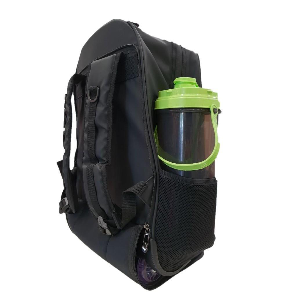 Batiq i-Pilot Trolley Bag 2in1 Business Traveller Backpack Cabin Size Water Resistant Hidden Trolley Handle QualityWheel