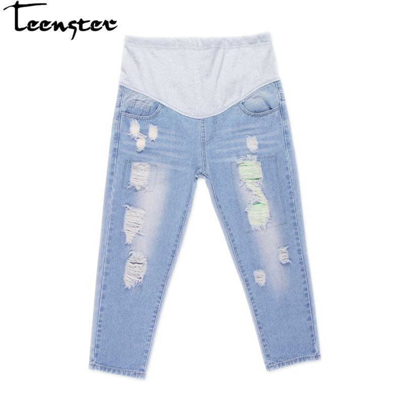 8a31582526c60 Teenster Pregnancy Maternity Clothing Maternity Support Pants Premama  Trousers | Shopee Malaysia