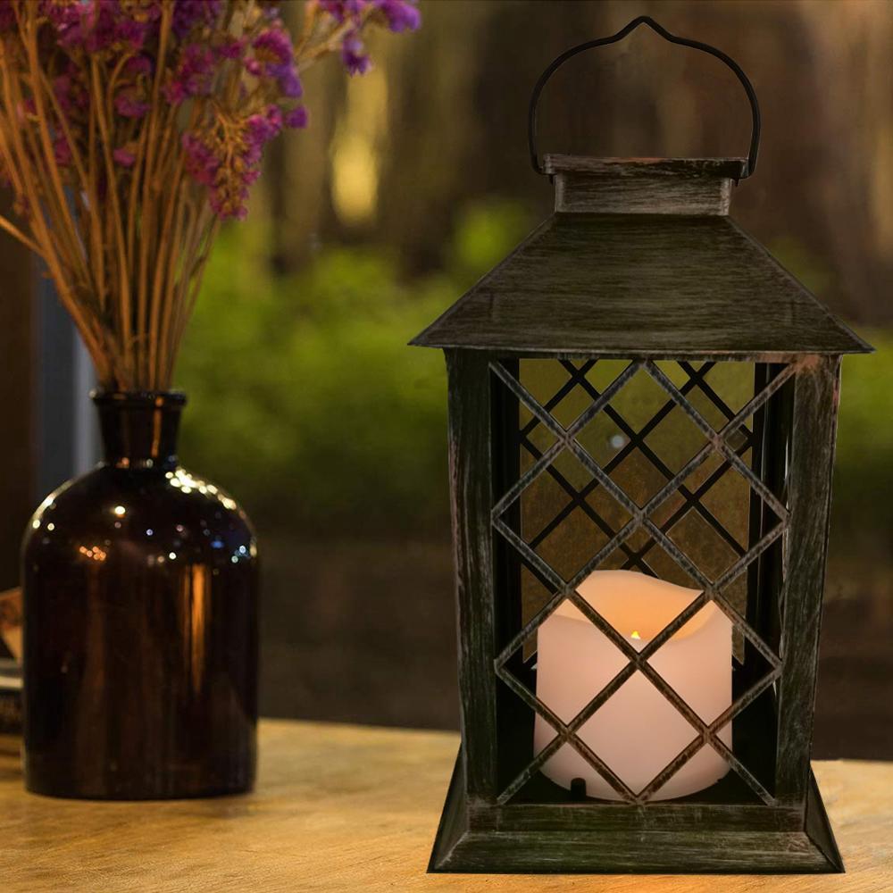 Lampu Taman Led Lampu Taman Suria Dengan Lilin Led Berkelip Kelip Flameless Suria Shopee Malaysia