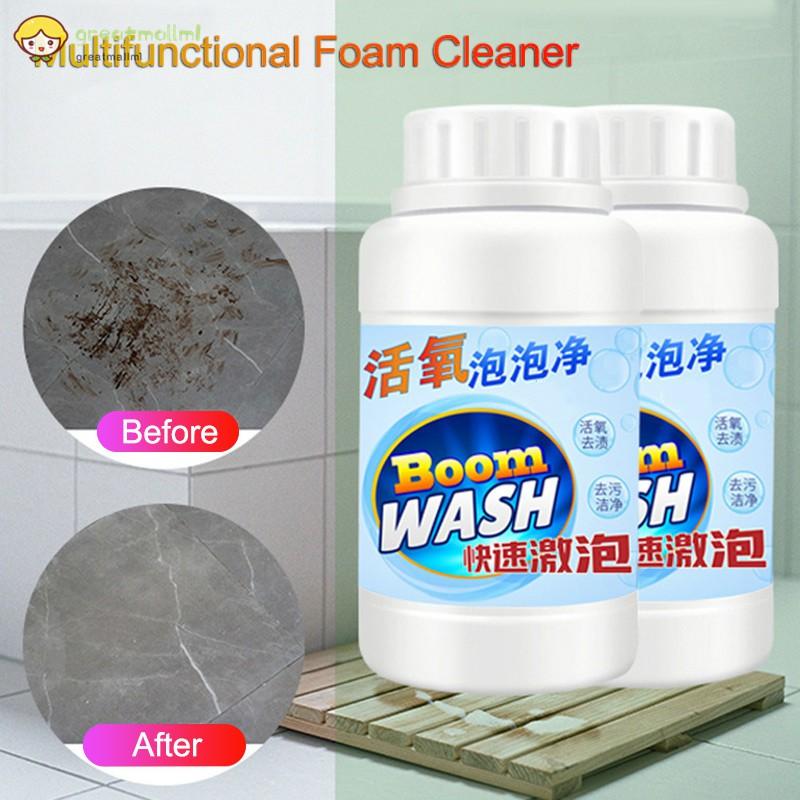✿GM✿1 Pcs Toilet Bubble Oxygen Cleaner Multifunctional Foam Cleaners Bubble  Powder