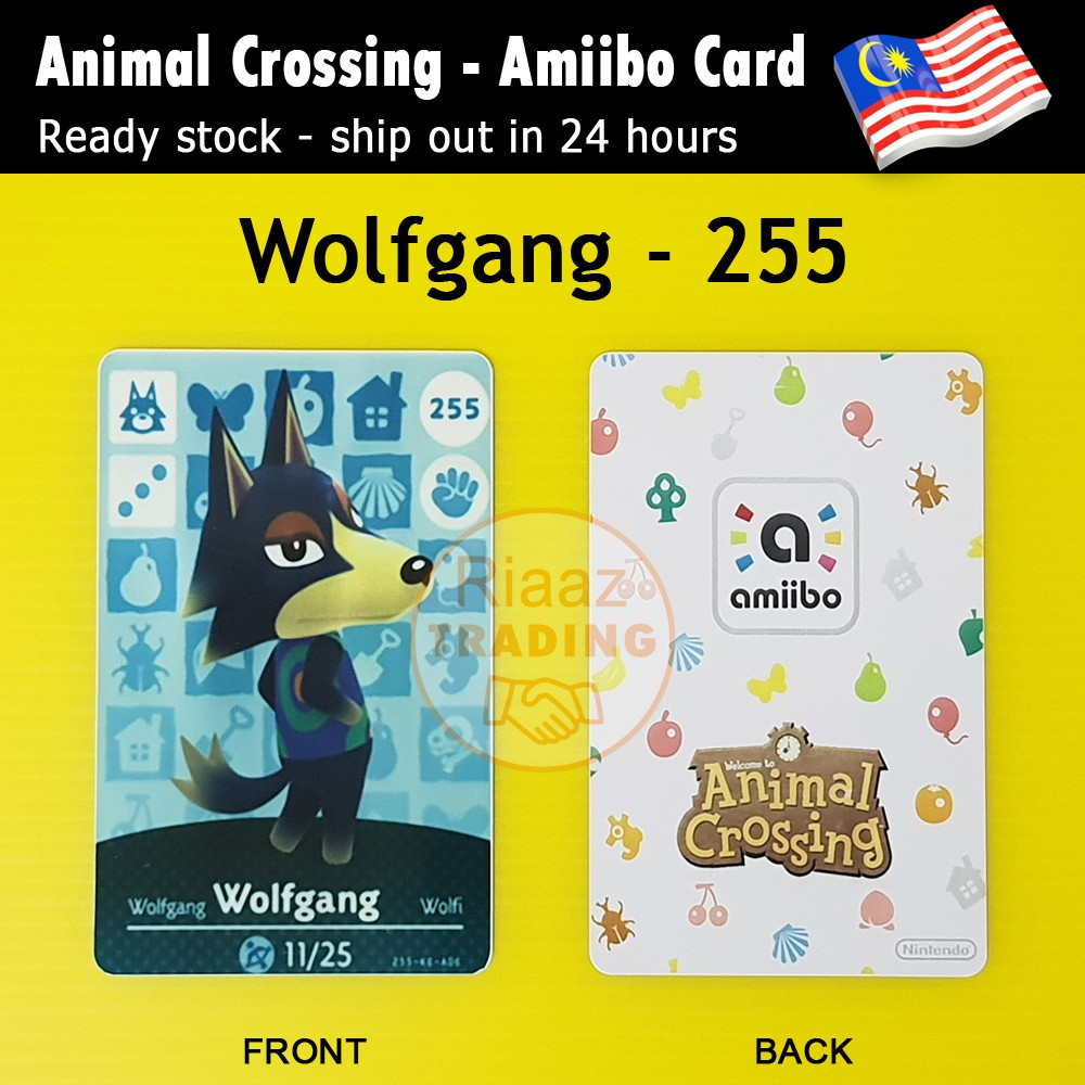 animal crossing villagers wolfgang