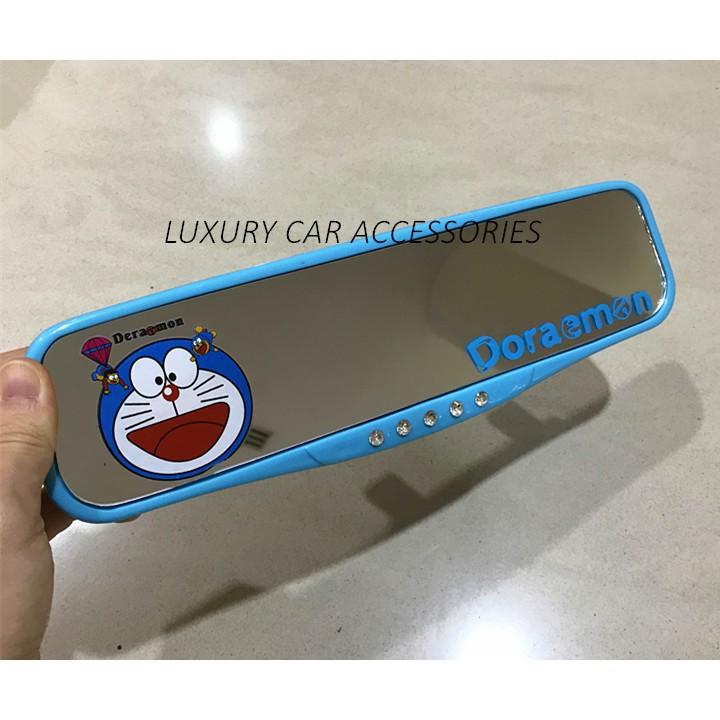 [READY STOCK] DORAEMON CUTE CARTOON CAR REAR VIEW MIRROR REARVIEW UNIVERSAL | Shopee Malaysia
