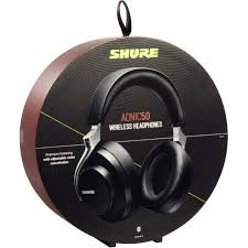 {SBH2350-BK-A} Shure AONIC 50 Wireless Noise-Cancelling Headphones (Black)