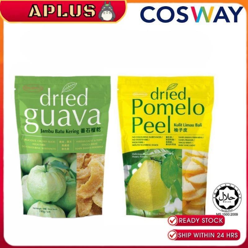 Mildura Dried Pomelo Peel & Mildura Dried Guava 190g Cosway