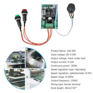 TF♈ DC5-30V 10A PWM DC Motor Controller 6V 12V 24V Forward