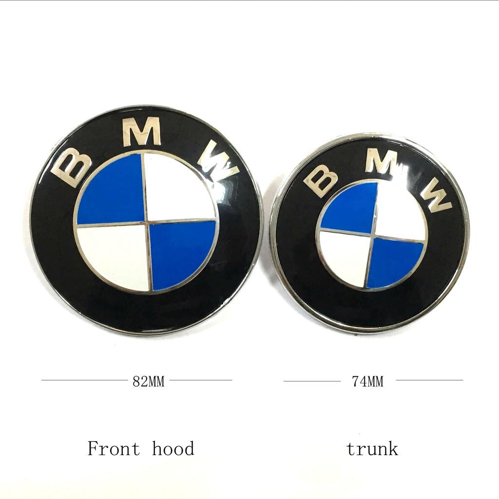 Car Emblem Front Badge Logo Hamann 82mm 2 Pins For BMW Hood//Trunk