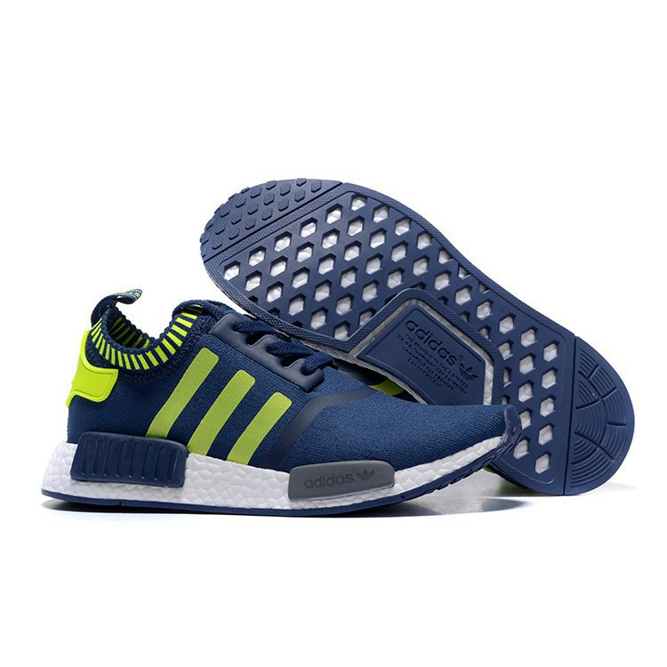 new styles 98d1f fae21 Original Adidas NMD men's casual shoes blue Running Shoes