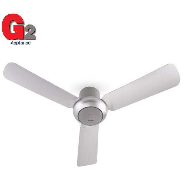 "PANASONIC BAYU 3 Blade Ceiling Fan F-M12D2 (48"") GREY (NEW)"