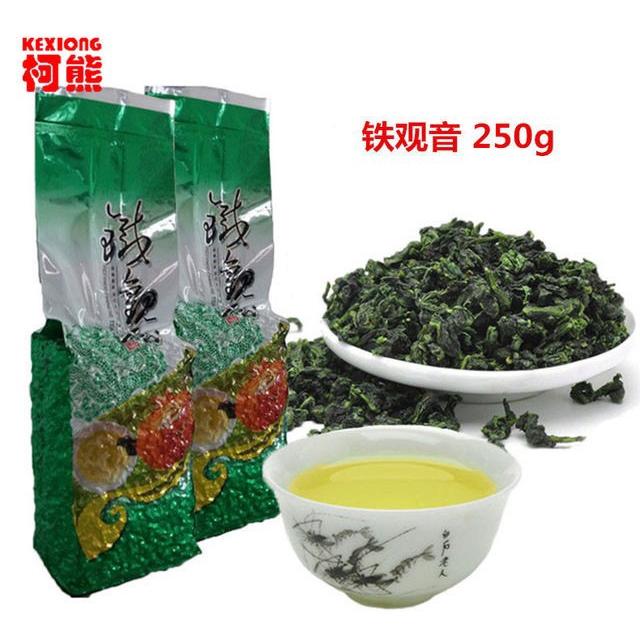 Oolong teh 250g Fresh High Quelity Tieguanyin tea 铁观音 Chinese tea Spring tea Health Care New Tea Anxi tea Green tea