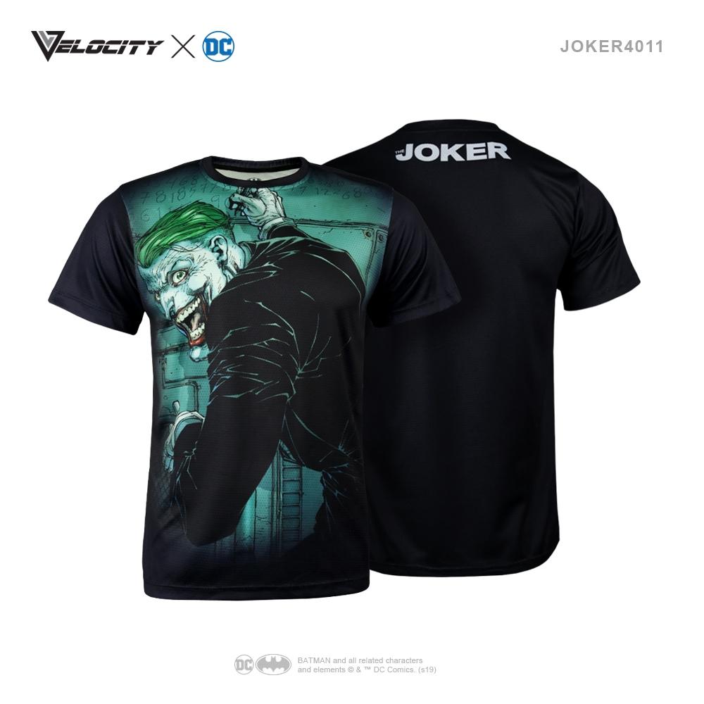 J4011 Unisex Exclusive Polyester Full Print Joker Tee Short sleeve