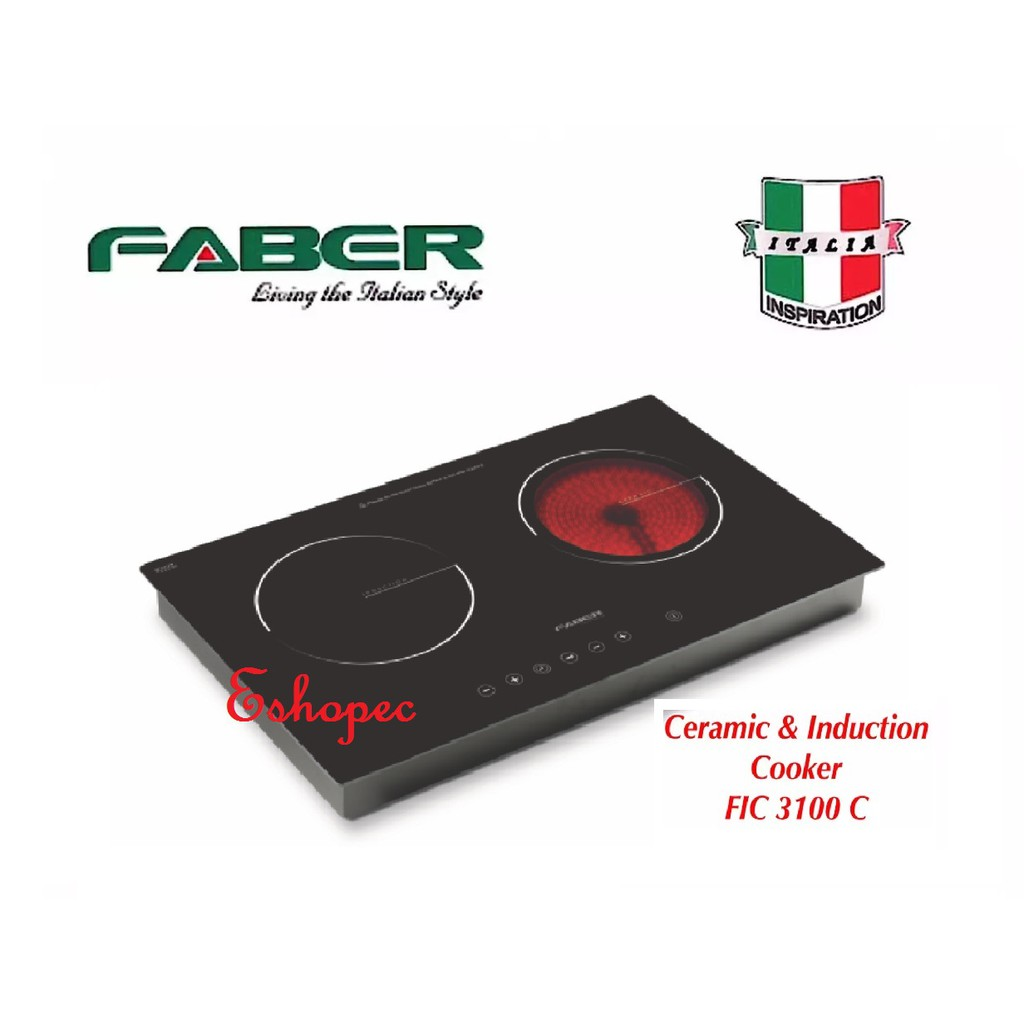 Faber FIC 3100 C Built-In Ceramic & Induction Cooker